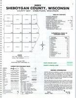 Index Map, Sheboygan County 1988